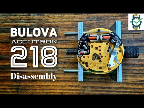 Bulova Accutron 218 Disassembly Tutorial