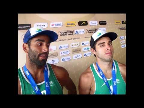 Shanghai Grand Slam -- Men - Pedro Solberg Salgado and Bruno Oscar Schmidt (BRA)