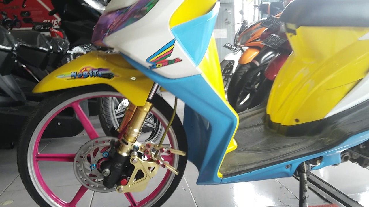 Modifikasi Honda Beat Thailand Look Style Tahun 2011