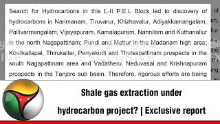 Shale gas extraction under hydrocarbon project? | Exclusive report