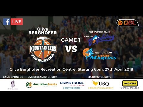 Toowoomba Sports Club Home Game #1 - Toowoomba Mountaineers vs Cairns Marlins and Dolphins