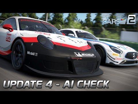 Update 4 - AI Check | Project CARS 2 German Gameplay [VR] [GER] Porsche 911 GT3 R @ Hockenheim
