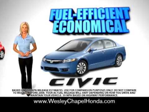 Wesley chapel honda tv spot youtube for Wesley chapel honda service