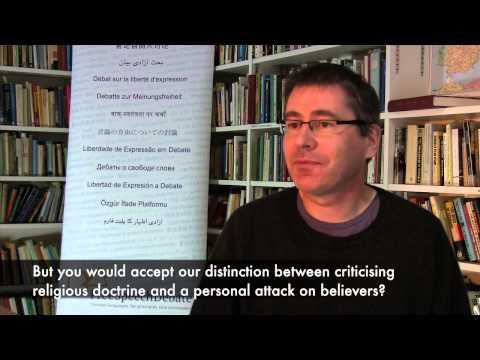 Alain Bouldoires on blasphemy laws in Europe
