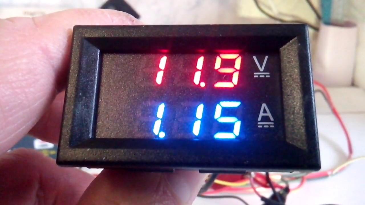 Вольт ампер метр 100 В 10 А.