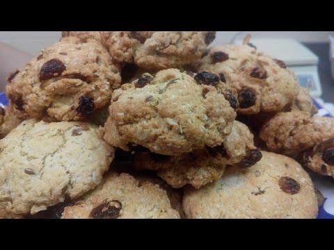 Овсяное печенье, домашний рецепт без регистрации и смс