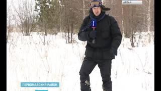 Егеря бьют тревогу: браконьеры на снегоходах истребляют животных в алтайских лесах(, 2015-12-22T05:05:27.000Z)