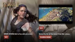 Total War ROME II - Морское сражение.