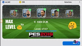 What Happens WHEN TRAINING PLAYERS WITH PLAYERS | PES2019 Mobile