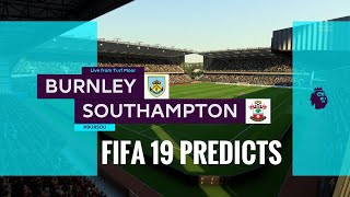 Burnley vs Southampton premier league prediction matchweek 25