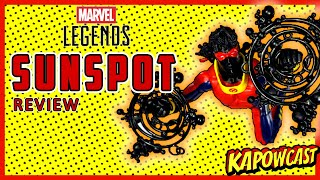 MARVEL LEGENDS SUNSPOT REVIEW | STRONG GUY BAF WAVE