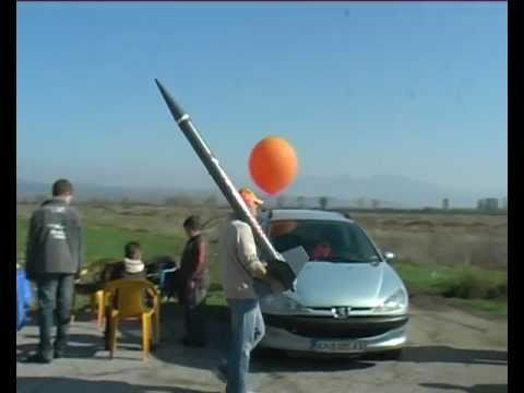 "Zinc Sulfur rocket ""MONSTER BG"""