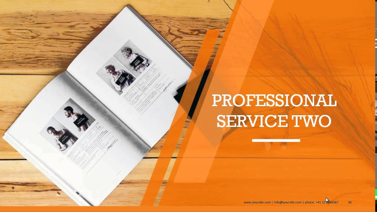 Company Profile PowerPoint Templates for Business Presentations ...