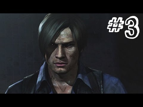 Resident Evil 6 Gameplay Walkthrough Part 3 Heavy Rain Leon