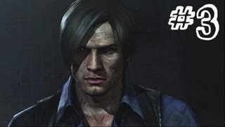 Resident Evil 6 Gameplay Walkthrough Part 3 - HEAVY RAIN - Leon / Helena Campaign Chapter 1 (RE6)