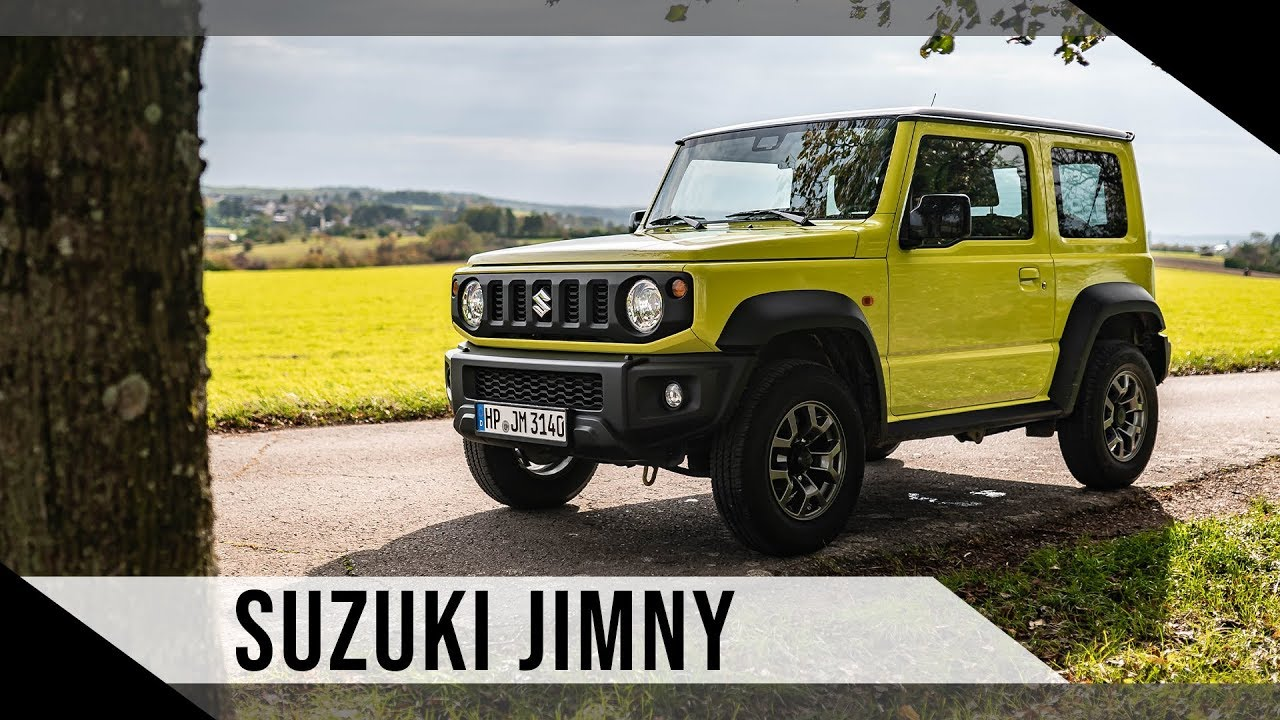 2020 Suzuki Jimny Exterior and Interior