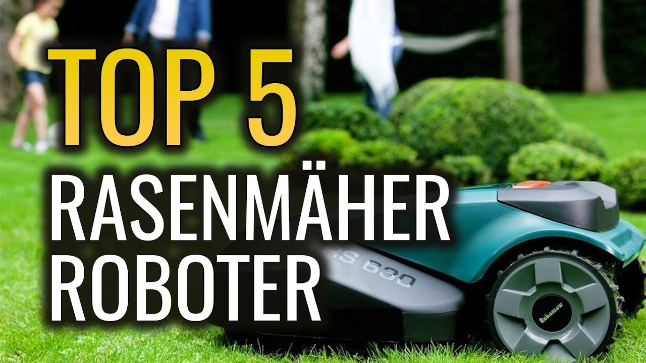 die 5 besten rasenm her roboter im vergleich test 2018 deutsch m hroboter stiftung warentest. Black Bedroom Furniture Sets. Home Design Ideas