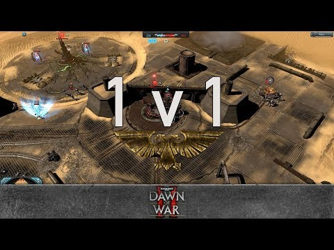 Dawn of War 2: Retribution - 1v1 | Bruce Campbell - Plague Champion [vs] Yogg'Saron - Warlock