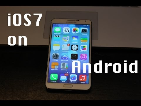 Transform Your Android into an iPhone! (iOS 7)