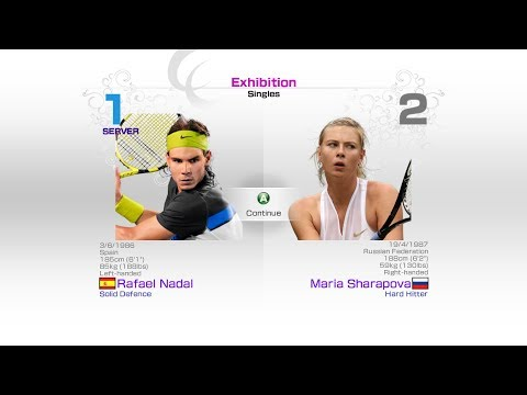 virtua-tennis-4-sega-rafael-nadal-vs-maria-sharapova-rafael-nadal-roger-federer-andy-murray