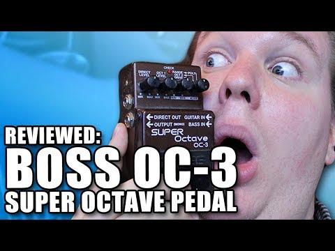 Boss OC-3 Super Octaver Review