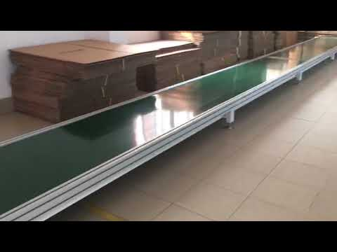 Garment Finishing Goods Carton Conveyor Belt