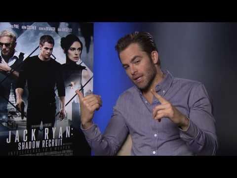 Chris Pine Talks Jack Ryan: Shadow Recruit