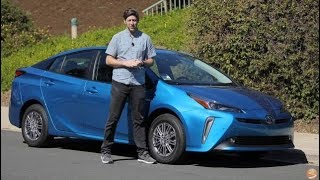 2019 Toyota Prius XLE AWD-e First Drive Video Review