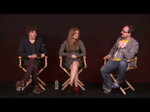 Jesse Eisenberg & Isla Fisher  Now You See Me Interview
