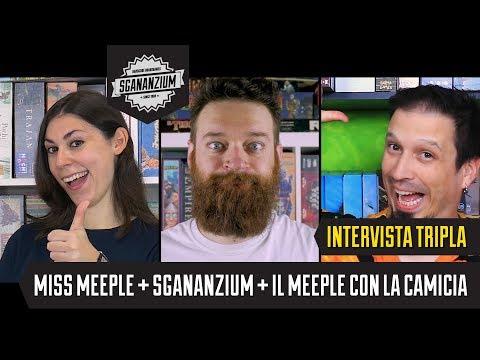 Intervista Tripla: Miss Meeple, Sgananzium, Il Meeple con la Camicia