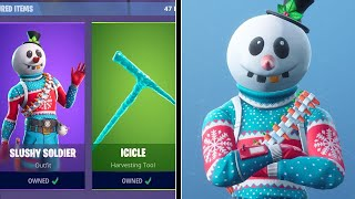 NEW SLUSHY SOLDIER SKIN! (Fortnite December 13th Item Shop)
