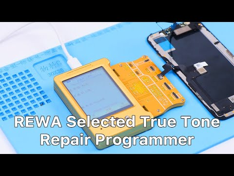 How to Fix iPhone True Tone Missing - REWA Selected Repair Programmer