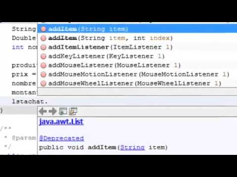 Java Mini Projet Gestion de Ventes de Matériels Informatiques 2