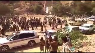بالفيديو.. احتشاد المئات خلال تشييع جنازة