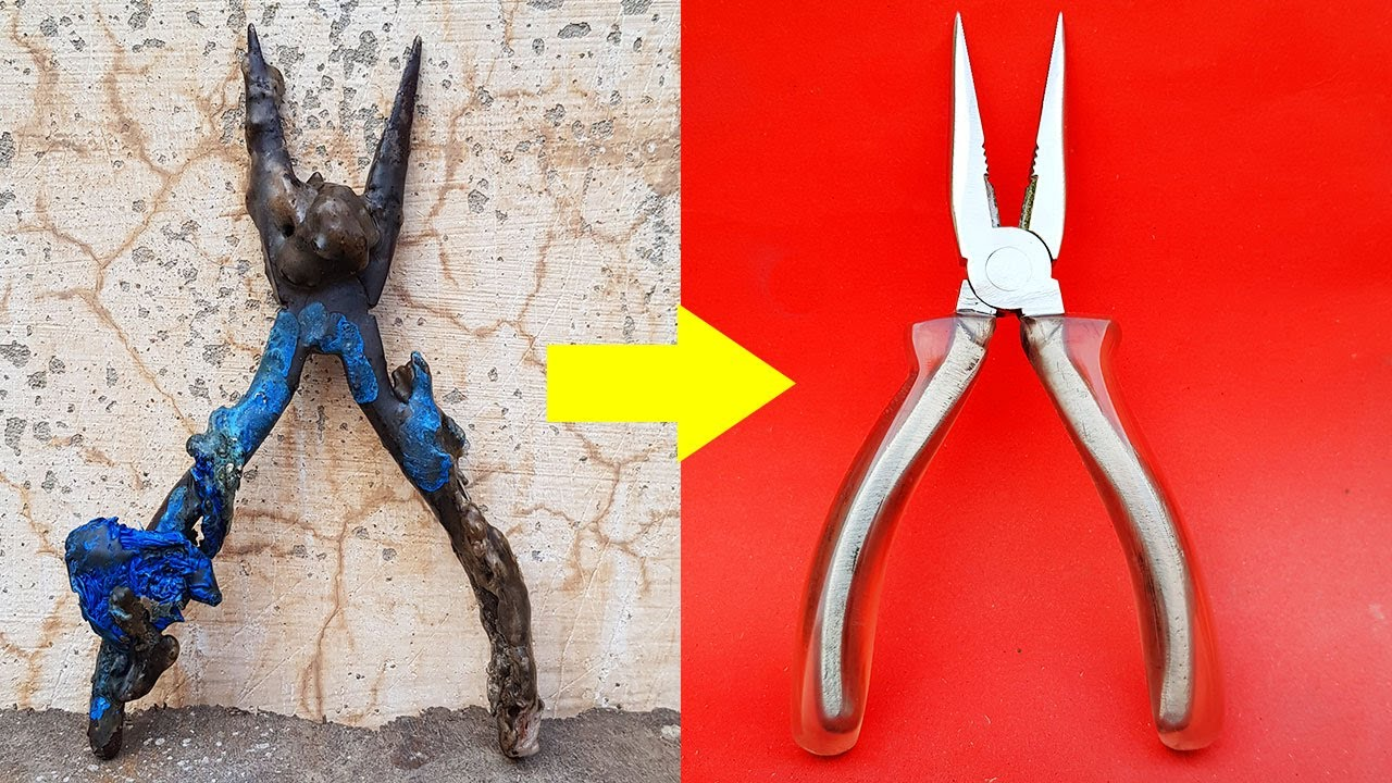 I RESTORED - Rusted Nose PLIER | Restoration Useful Tool