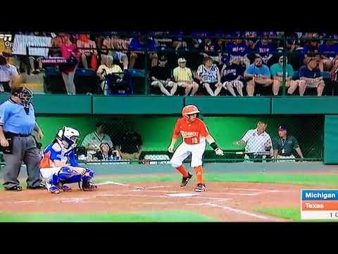 Chandler Spencer Single - 2017 LLWS Michigan vs Texas