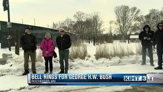 Local ceremony honors George H.W. Bush