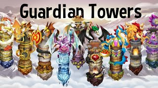 ALL GUARDIAN TOWER DRAGON CITY