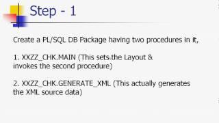 XML Publisher -Check print-1.avi