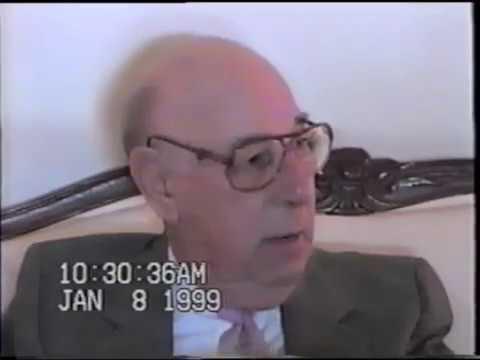 Oral History of Judge Albert De Marco by Mark Thomas (January 8, 1999)