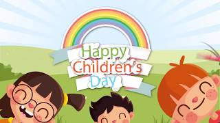 #Cartoon #Happychildrensday wishes | #childrensday whatsapp status 2019 | Royalty Free Footages