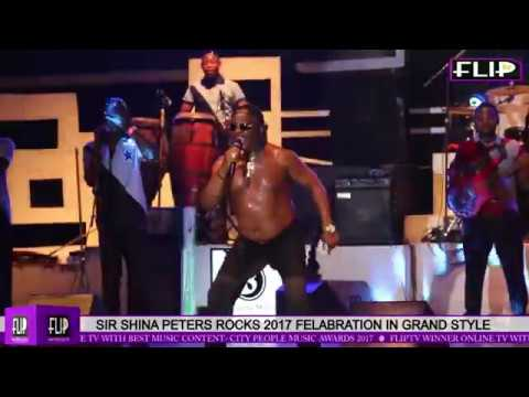 SIR SHINA PETERS ROCKS 2017 FELABRATION IN GRAND STYLE