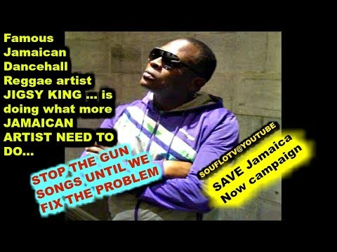 Famous Jamaican Artist Begs Jamaica NO MORE GUN SONGS, Stop the killings