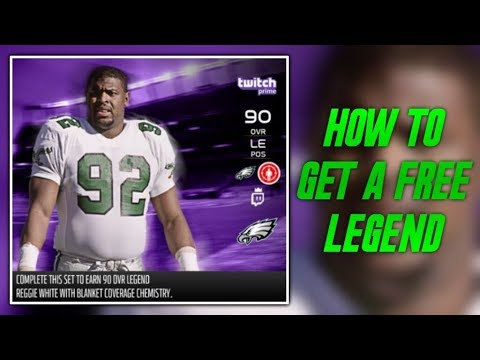HOW TO GET FREE LEGENDS IN MADDEN 18! FREE 90 OVERALL REGGIE WHITE! | MADDEN 18 ULTIMATE TEAM
