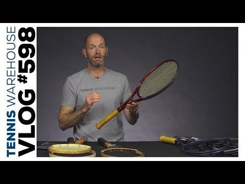 Luxilon Smart String + Vintage Tennis Racquet Vibes -- VLOG #632