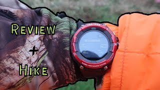 Short Hike And Reviewing My New Outdoor Watch ( Casio WSD- F21HR)