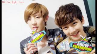 EXO ChanBaek/BaekYeol proof / evidence 2