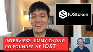Interview with Jimmy Zhong, Co-Founder at IOStoken