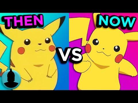 Pokémon  Then VS Now  Evolution of Pokémon Tooned Up S3 E51