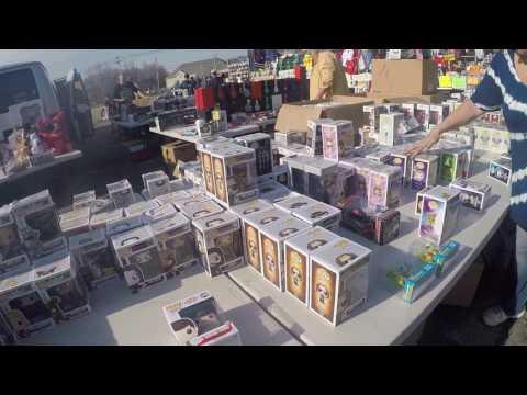 Live Toy Hunting #4 Flea Market Finds Gi Joe, Marvel Legends, Transformers...